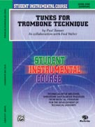 Alfred Publishing 00-BIC00158A Student Instrumental Course: Tunes for Trombone Technic Level I - Music Book