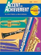 Alfred Publishing 00-17082 Accent on Achievement Book 1 - Music Book