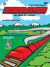 Alfred Publishing 00-BMRCD1000 Recorder Express - Music Book