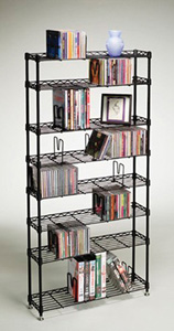 ATLANTIC 3020 Multimedia Storage Racks 8 shelves