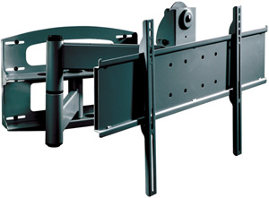 PEERLESS PLA60 UNLP Articulating Wall Arm for 37 Inch60 Inch Flat Panel Screens Black