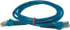 TRIPPLITE N001-005-BL Snagless CAT-5 5E Patch Cables 5-ft Blue CAT-5E patch cable