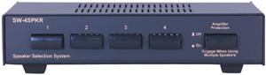 OEM SYSTEMS SW-4SPKR Impedance-Compensating Speaker Switcher