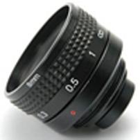 ABL Corp LENS-08 8mm Lens - Black