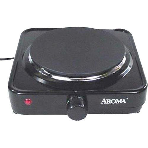 Image of Aroma AHP-303 Single Hot Plate Black