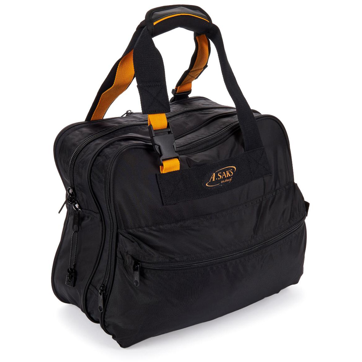 A. Saks AE-16 Deluxe Expandable Shoulder Tote