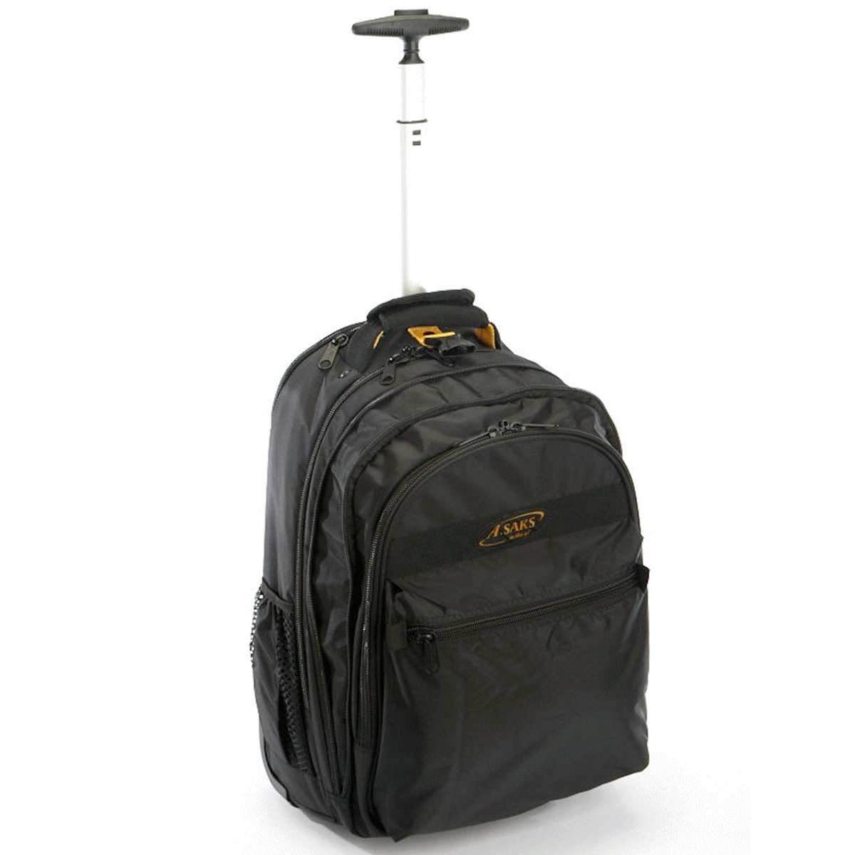 A. Saks AE-19W Deluxe Exapandable Wheeled Computer Backpack