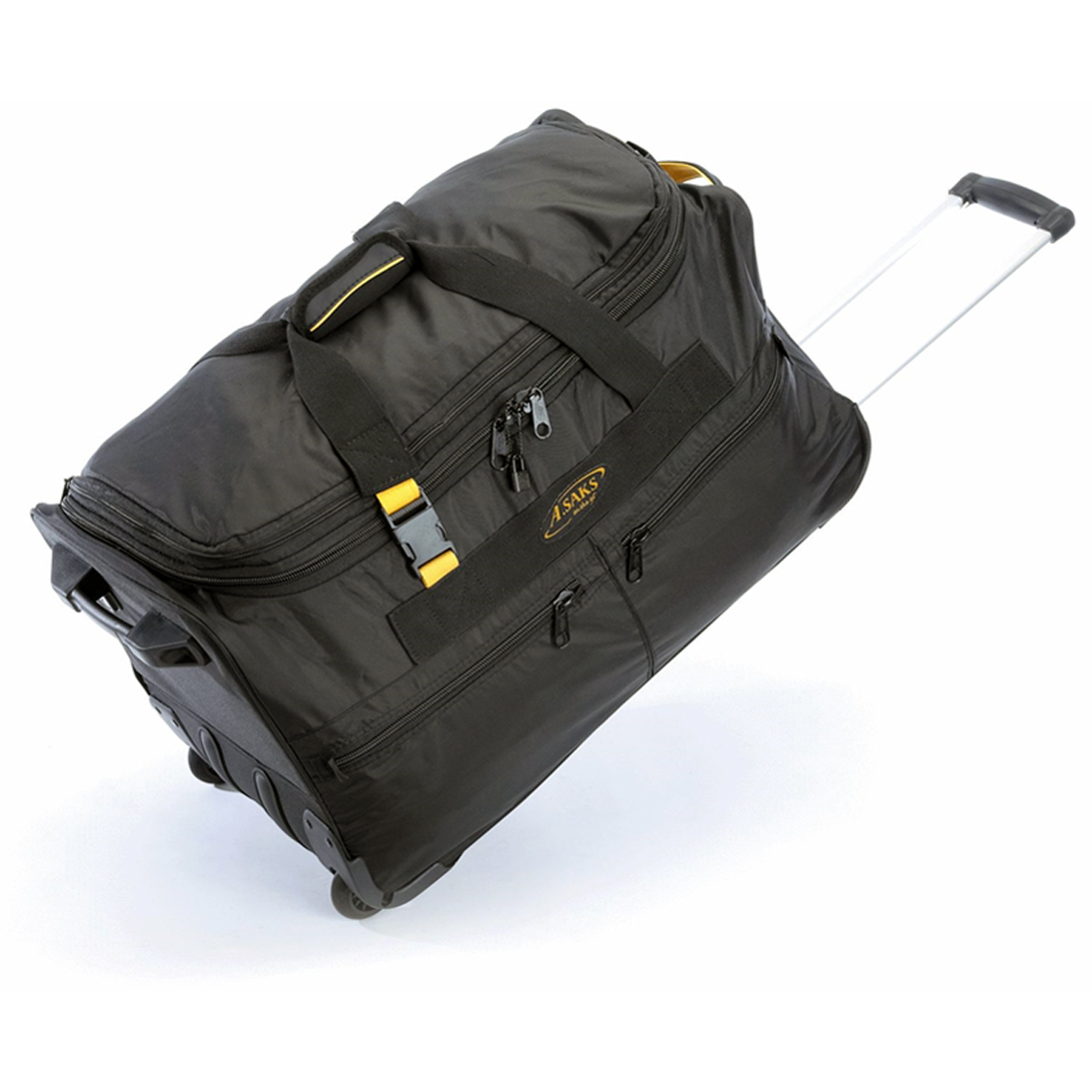 A. Saks AE-25W Expandable 25 Inch Wheeled Duffel