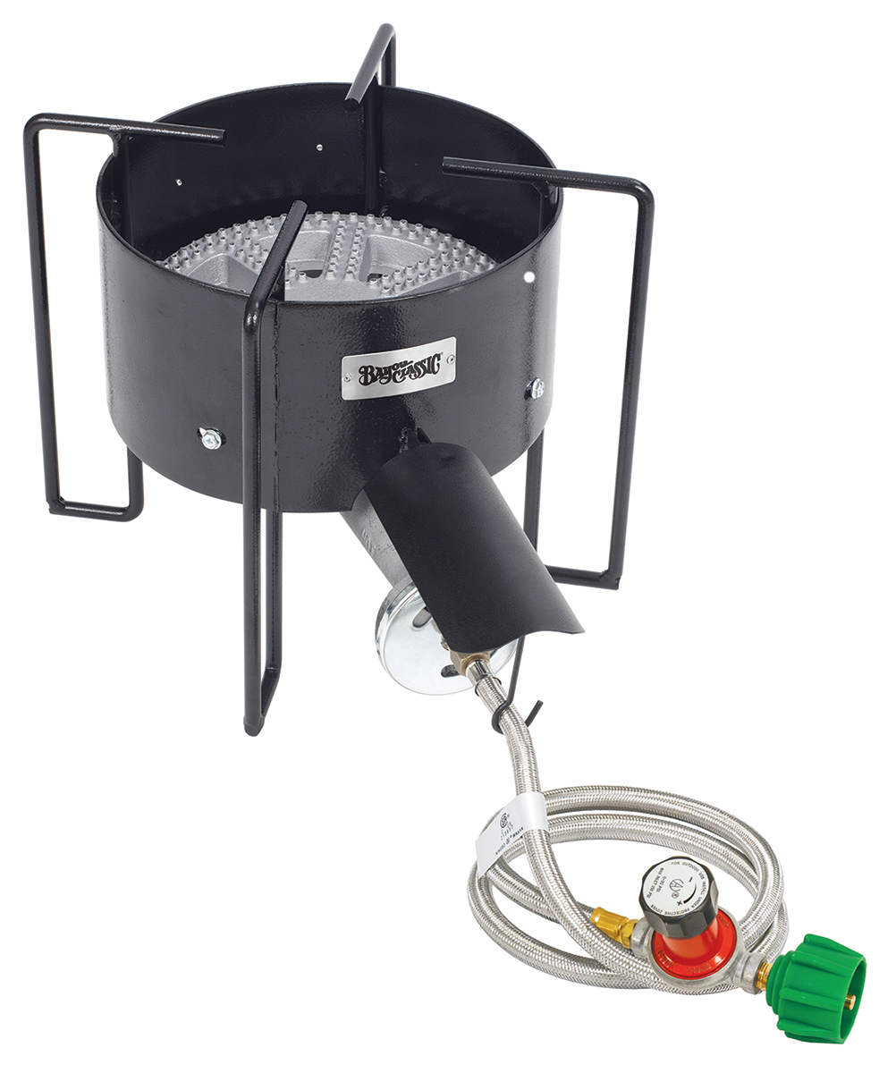 Bayou Classic KAB4 30 psi Banjo Cooker with Hose Guard