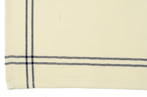 Dunroven House K319-N Vintage Stripe Tea Towel in Navy- Pack of 6