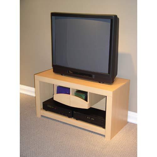 4D Concepts 52202 Large TV Stand in Beech