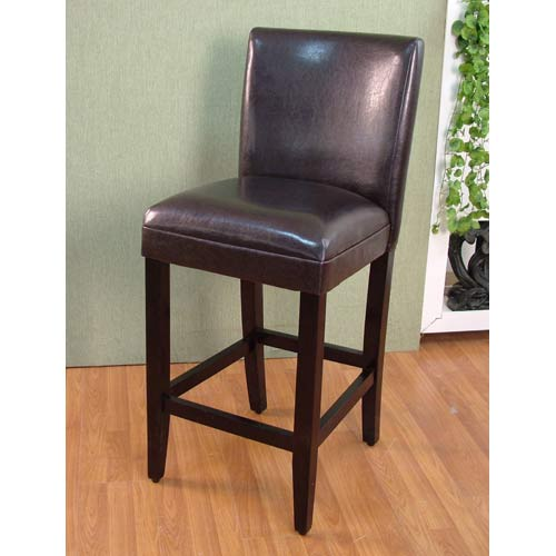 4D Concepts 555401 Deluxe Barstool in Brown