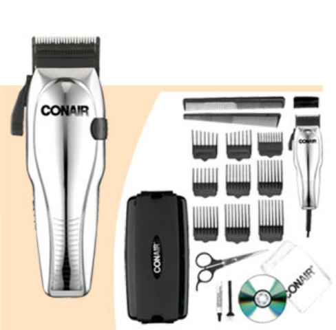 Conair HC200GB Custom Cut 21 Piece Haircut Kit with Case