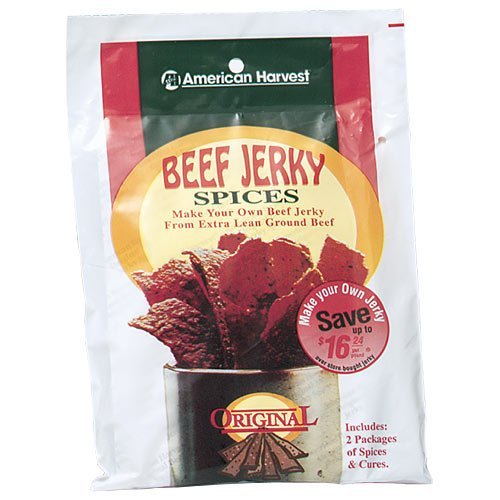 Nesco BJG-6 Jerky Works Cracked Pepper and Garlic Flavor 6-Pack