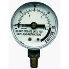 Presto 85771 0.125 Pipe Pressure Canner Steam Gauge