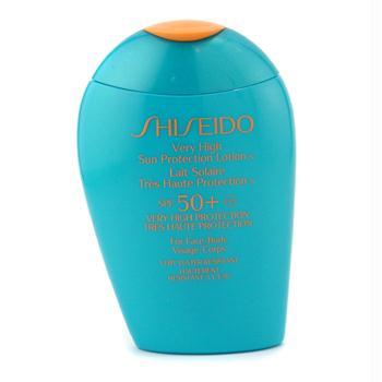 Shiseido Very High Sun Protection Lotion N Spf 50+ For Face  Body  100Ml/3.4oz