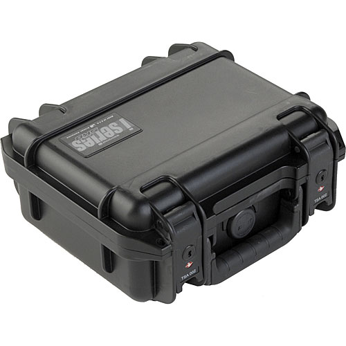 SKB 3I-0907-4B-L Injection Molded Waterproof Case  Layered Foam 9.25 x 7.125 x 4.125 Inch