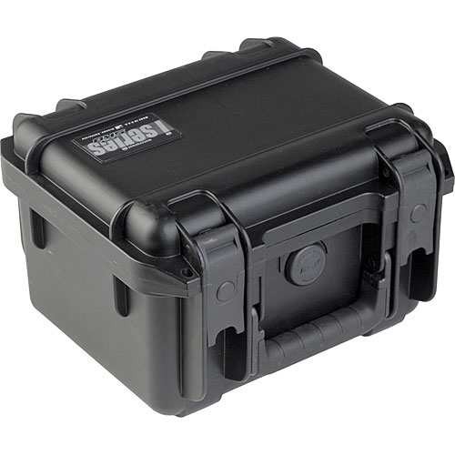 SKB 3I-0907-6B-E Injection Molded Waterproof Case Empty 9.875 x 7 x 6.125 Inch