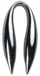 Simran ZR-647 Bar-Basics Chrome Plated Plastic Foil Cutter