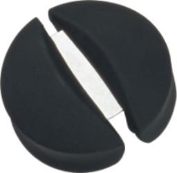 Simran ZR-649 Bar-Basics Black Plastic With Metal Strip Foil Cutter