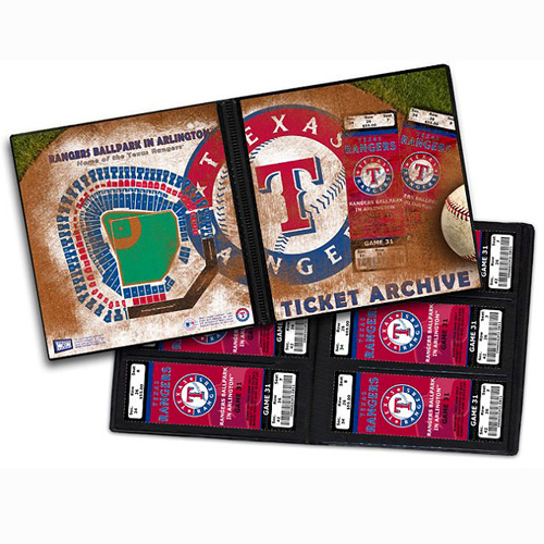 Texas Rangers Ticket Archive - Holds 96 Tickets