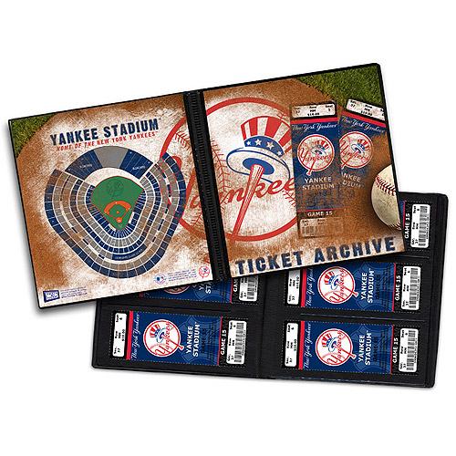 New York Yankees Ticket Archive - Holds 96 Tickets