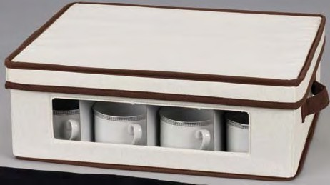 Home Essentials 538 China Storage Cup Chest