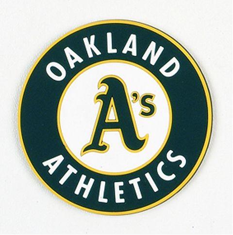 Oakland Athletics Coasters - Set of 4