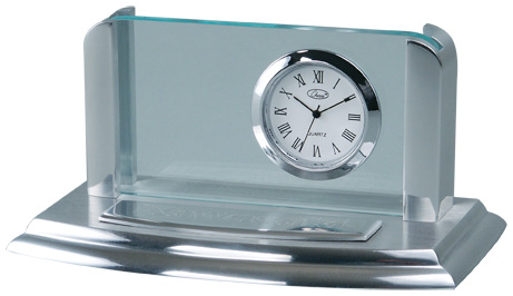 Chass 00025 Business Card Holder Clock
