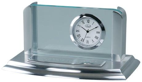Chass 00025 Business Card Holder Clock