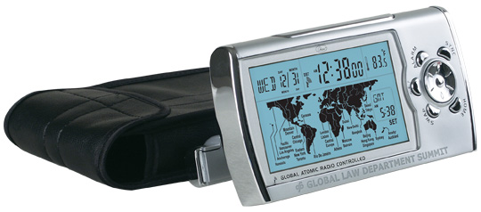 Chass 00192 World Sync Time Zone Map Clock
