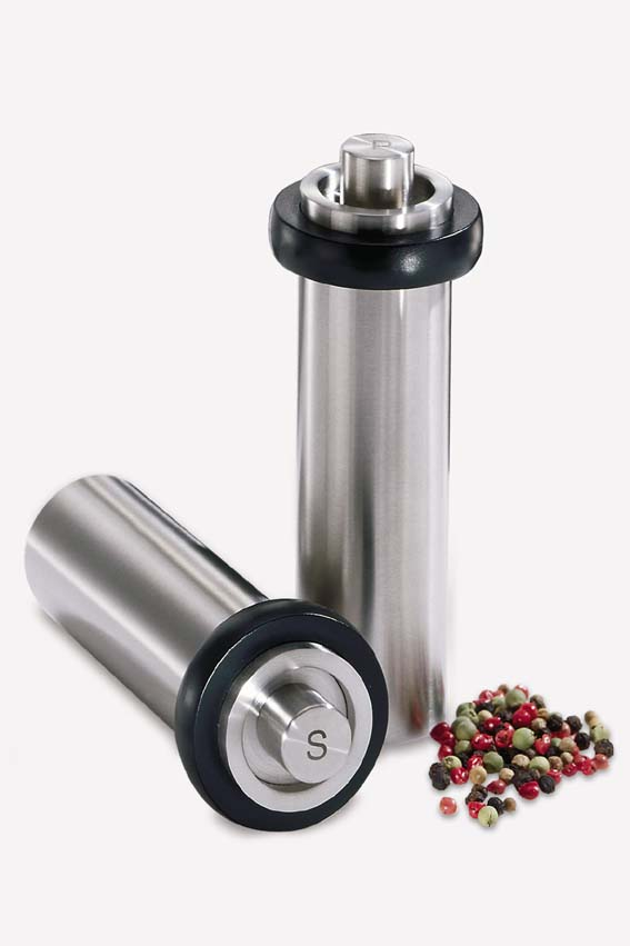 Zack 20742 MACINAsalt mill Stainless Steel