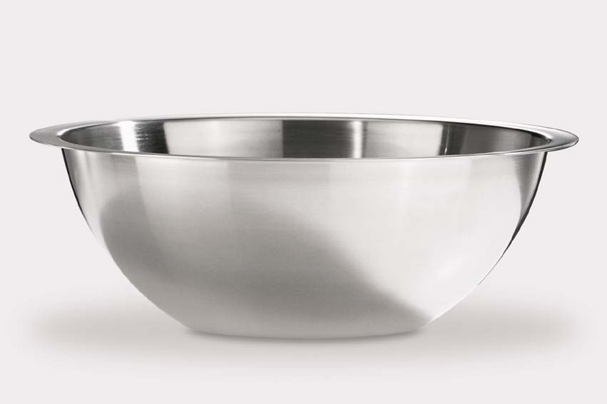Zack 21194 CASTELLO salad bowl with rim dia.11.43 inch Stainless Steel
