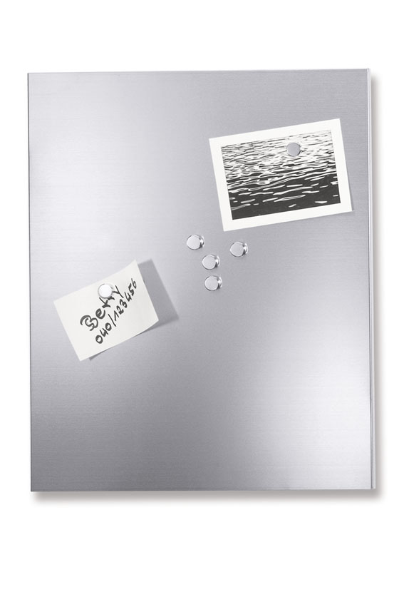 Zack 30750 Magnetic board small 13.79x17.73 inch Stainless Steel