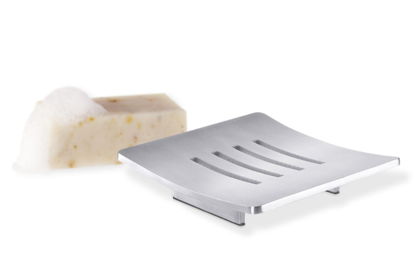 Zack 40101 ABBACO soap dish Stainless Steel