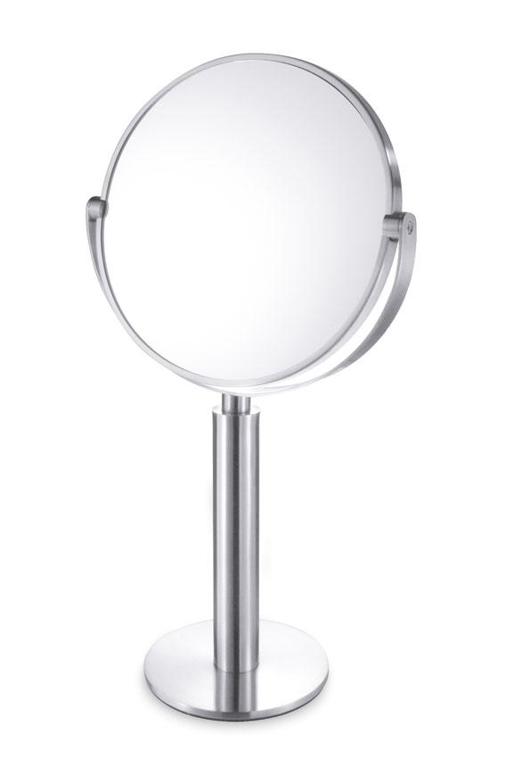 Zack 40114 FELICE standing mirror Stainless Steel