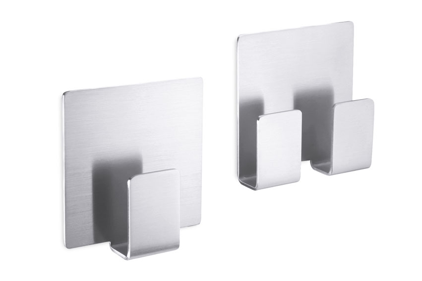Zack 40134 APPESO towel hook. self- adhesive Stainless Steel