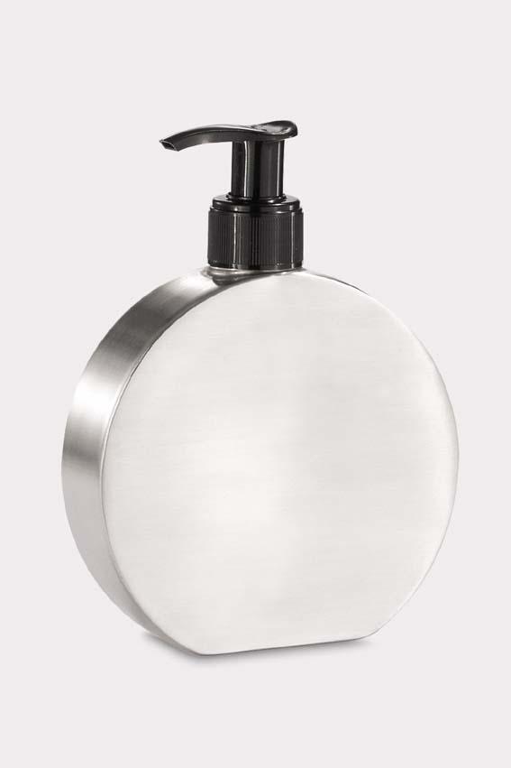 Zack 40169 RONDO liquid soap dispenser 8.45 oz Stainless Steel