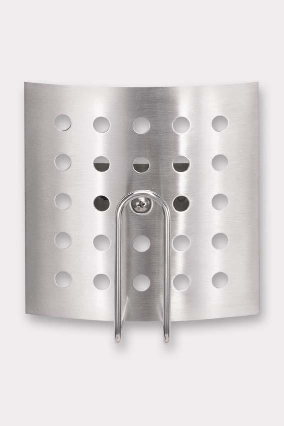Zack 40174 PINOspare toilet roll holder Stainless Steel