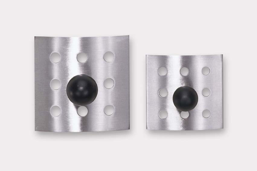 Zack 40178 PINO single bath hook 2.36 inch Stainless Steel