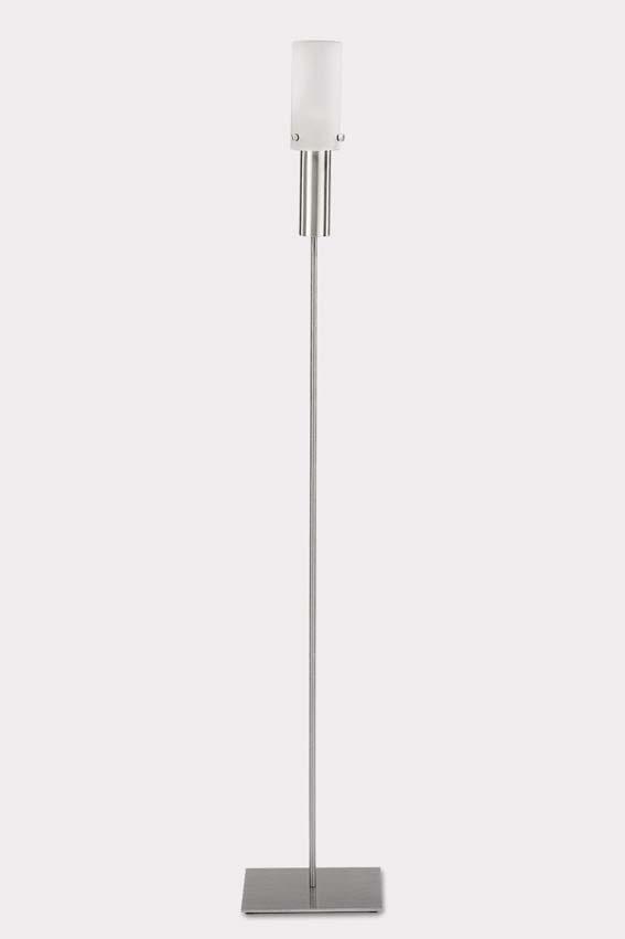 Zack 40644 GIARDINO garden oil lamp cylind. h.9.26 2.36 inch Stainless Steel