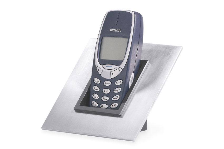 Zack 50090 BASIC mobile phone holder Stainless Steel