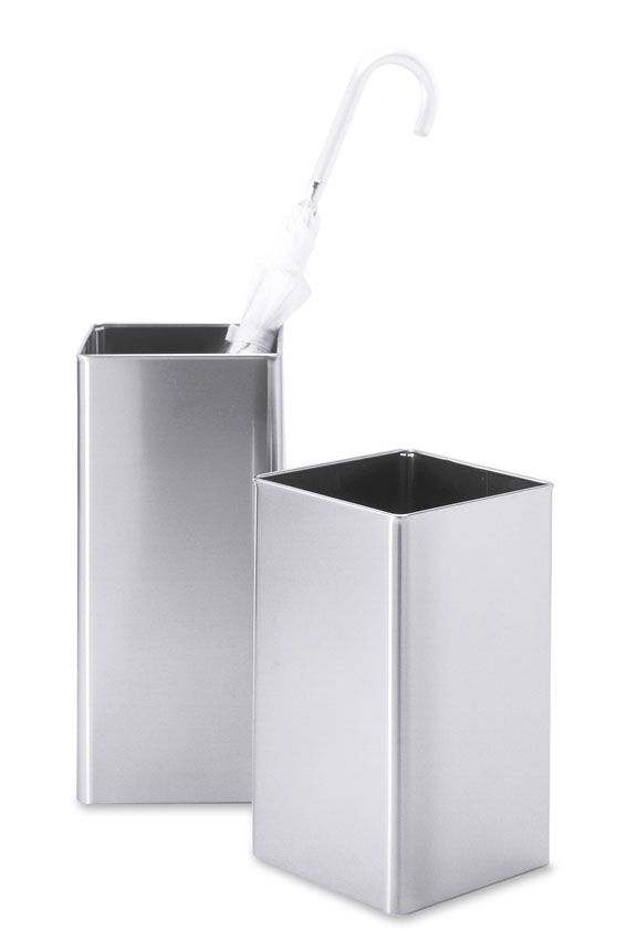Zack 50477 ANGOLO waste paper basket Stainless Steel