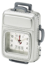 Chass 81118 Carry on Luggage Alarm Clock