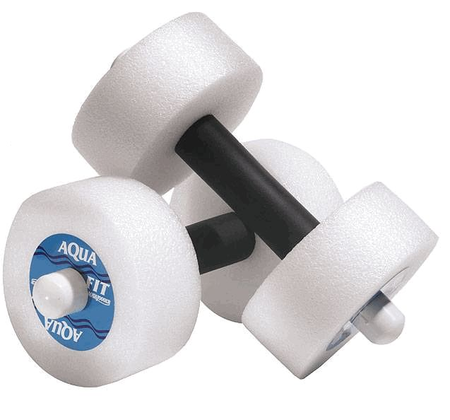 Image of Aqua Jogger AP118 AquaFit Pro Barbells Round White AquaJogger