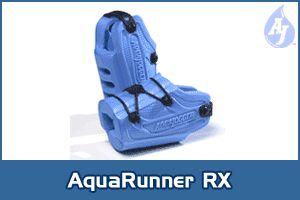 Image of Aqua Jogger AP432 AquaRunners RX for feet Blue AquaJogger