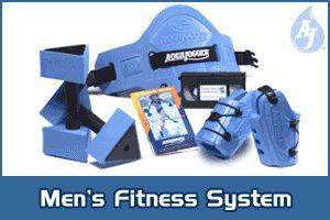 Image of Aqua Jogger AP460 Mens Fit Kit Blue AquaJogger