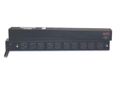 American Power Conversion-APC AP9560 Rack PDU Basic 1U  30A 120V