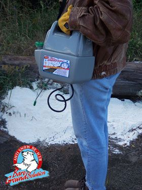 Bare Ground Battery Powered One Gallon Sprayer - BGPS-1