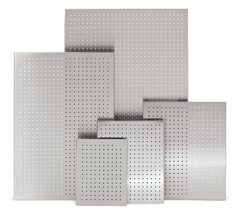 Blomus 66744 stainless steel magnet board perforated 23.5 x 35.5 inch